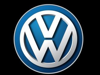 VW logo - sort