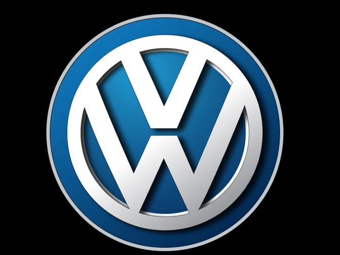 VW logo - sort